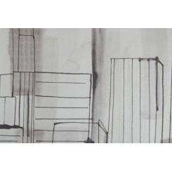 Портьерная ткань для штор Buildings 1004