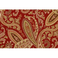 Портьерная ткань для штор Ballard 353 Crimson