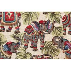 Портьерная ткань New Elephants Beige
