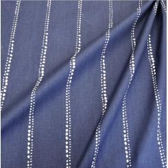 Портьерная ткань Carlo Vintage Indigo
