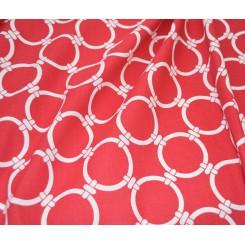 Портьерная ткань Linked Carmine