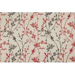 Портьерная ткань Whisp embroidery Ruby